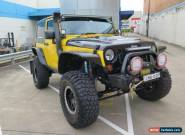 2008 Jeep Wrangler JK MY2008 Sport Yellow Automatic 4sp A Softtop for Sale