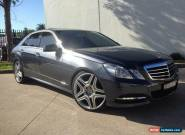 2011 Mercedes-Benz E350 212 Avantgarde Grey Automatic 7sp A Sedan for Sale