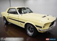 1968 Ford Mustang GT Car for Sale