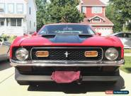 1971 Ford Mustang Mach I Fastback 2-Door for Sale