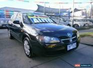 2005 Nissan Pulsar N16 MY03 ST Black Automatic 4sp A Hatchback for Sale