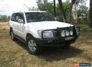 2005 Toyota Landcruiser HDJ100R Upgrade Sahara (4x4) White Automatic 5sp A for Sale