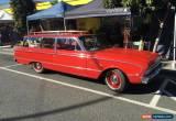 Classic RARE 1961 two door Falcon wagon for Sale