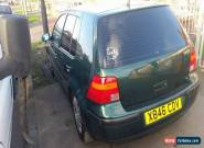 2000 VOLKSWAGEN GOLF SE MODIFIED LOWERED LEATHER SEATS SPARES OR REPAIR  for Sale