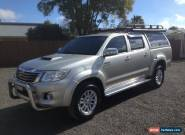2013 TOYOTA HILUX SR5 DUAL CAB 4WD TURBO DIESEL AUTO for Sale