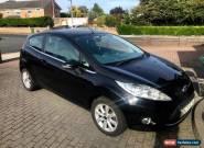 Black Ford Fiesta (2009) - Zetec 1.25 - 3 Door - 57000 miles for Sale
