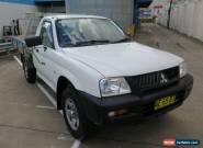 2004 Mitsubishi Triton MK MY04 GL White Manual 5sp M 2D CAB CHASSIS for Sale