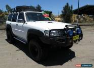 2006 Nissan Patrol GU IV DX (4x4) White Automatic 4sp A Wagon for Sale