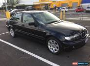 2004 BMW 318i Executive Sedan black on black with factory sunroof, RWC and rego for Sale