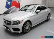 2017 Mercedes-Benz C-Class Base Coupe 2-Door for Sale