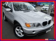 2001 BMW X5 E53 3.0I Silver Automatic 5sp A Wagon for Sale