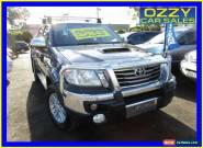 2012 Toyota Hilux KUN26R MY12 SR5 (4x4) Grey Manual 5sp M Dual Cab Pick-up for Sale