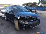 VW VOLKSWAGEN TOUAREG 2011 AUTO V6 TDI 150KW REPAIRABLE 132000KMS 7P for Sale