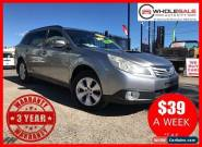 2009 Subaru Outback B5A MY10 2.0D AWD Grey Manual M Wagon for Sale