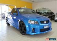 2010 Holden Ute SV6 Blue Automatic A Utility for Sale