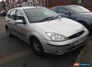 FORD FOCUS 1.6 PETROL, 5 DOOR HATCH, SILVER, 120,000 MILES for Sale