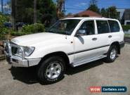 2001 Toyota Landcruiser HZJ105R GXL (4x4) White Manual 5sp M Wagon for Sale