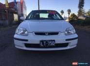 1996 Honda Civic EK GLi White Automatic A Hatchback for Sale