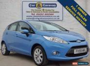 2009 59 FORD FIESTA 1.2 ZETEC 5D 81 BHP 1 OWNER for Sale