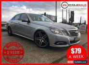 2010 Mercedes-Benz E250 CDI 3 Years Warranty Included Automatic A Sedan for Sale