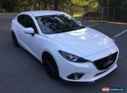 2016 Mazda 3 BN MY17 SP25 GT Snowflake White Pearl Automatic 6sp A Sedan for Sale