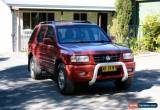 Classic Holden Frontera 2000 wagon for Sale