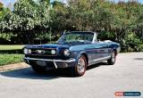 Classic 1966 Ford Mustang GT Convertible Fully Restored for Sale