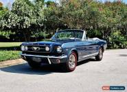 1966 Ford Mustang GT Convertible Fully Restored for Sale