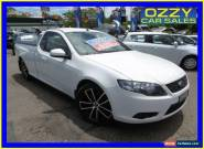 2008 Ford Falcon FG R6 (LPG) White Automatic 4sp A Utility for Sale
