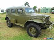 Dodge 1942 Carryall 4x4 for Sale