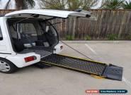 Wheelchair accessible car - Suzuki 1999 for Sale