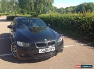 BMW 320d e92 m-sport coupe black manual for Sale