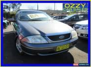 2000 Ford Fairmont Auii Ghia 75th Anniversary Grey Automatic 4sp A Sedan for Sale