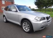 2008 BMW X3 2.0 20d M Sport 5dr FULL SERVICE HISTORY DIESEL STUNNING CAR LOOK for Sale