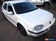 1998 VOLKSWAGEN GOLF S TDI RUNS DRIVES FOR SPARES OR REPAIR for Sale