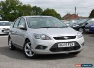 2009 Ford Focus 1.6 Zetec 5dr 83k Miles, Moondust Silver, 10m MOT, No Reserve! for Sale