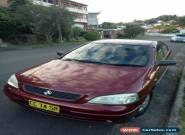 Holden Astra CD sedan 2000 maroon 1.8L Auto for Sale