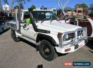 1999 Toyota Landcruiser FZJ75RP (4x4) White Manual 5sp M Cab Chassis for Sale