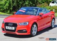 2014 AUDI A3 2.0 TDI S LINE 2D CONVERTIBLE DIESEL for Sale