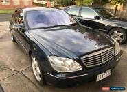 2000 Mercedes S500 W220 Luxury Car for Sale