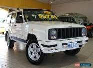 2001 Jeep Cherokee XJ Classic White Automatic 4sp A Wagon for Sale