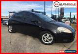 Classic 2007 Fiat Punto Dynamic Hatchback 5dr Man 6sp 1.3DT Black Automatic AUTO/MANUEL for Sale