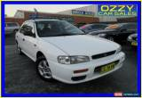 Classic 1998 Subaru Impreza Sportswagon White Manual 5sp M Hatchback for Sale