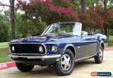 Classic 1969 Ford Mustang Convertible  for Sale