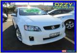 Classic 2006 Holden Commodore VE SV6 White Manual 6sp M Sedan for Sale