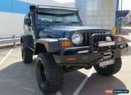 2005 Jeep Wrangler TJ MY2005 Sport Green Manual 6sp M Softtop for Sale