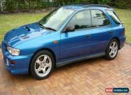 Subaru Impreza WRX MY99 5D Hatchback / Wagon Manual  for Sale