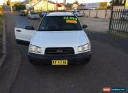 2003 Subaru Forester 79V X White Automatic A Wagon for Sale