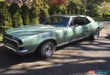 Classic Chevrolet: Camaro RS/SS for Sale