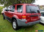 2002 FORD ESCAPE WAGON AUTO SOLD WHOLE OR PARTS FROM $1. for Sale